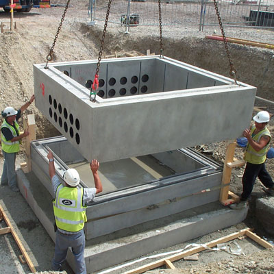 Concrete Drawpits And Manholes