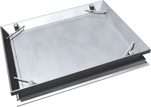 recessed steel cover l