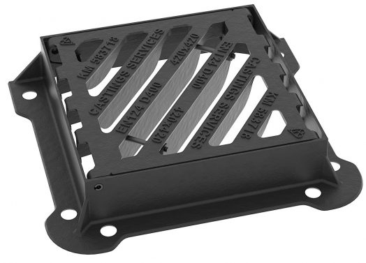D400 Highway Grating Hinged Double Tri Closed
