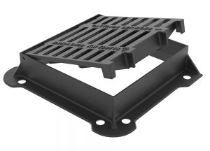 D400 Highway Grating Hinged Open